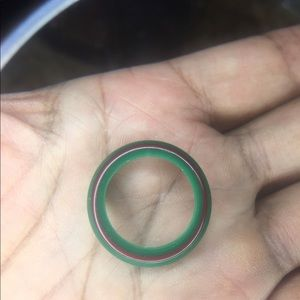 Authentic Gucci green red bezel